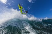 water photography windsurfing Maui Hawaii with professional windsurfer Flo Jung