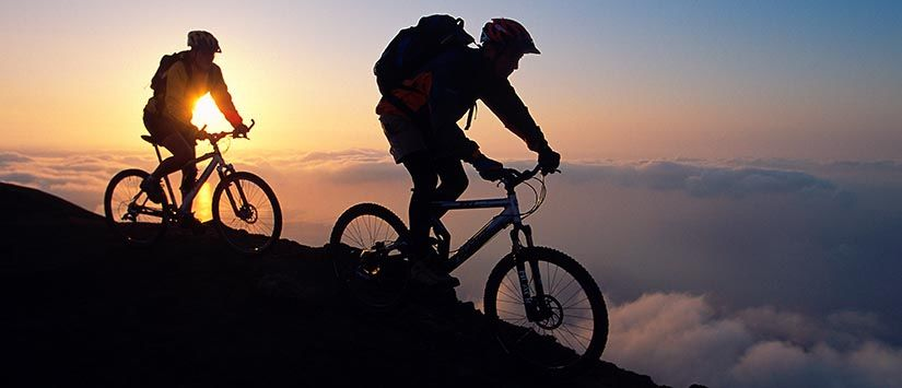 The great Outdoors - Mountainbiking on the island of Vulcano (Lipari Islands/ Italy) - Click to see more in Gallery